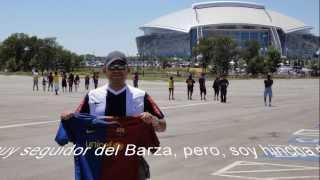 Barcelona Vs America, Dallas TX