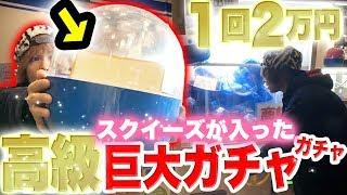 1回2万円!!超巨大ガチャガチャの特大スクイーズが出るまで企画ジャパンアミューズメントエキスポ カプセルトイ 検索動画 20