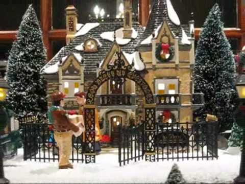 department 56 snow village youtube. Black Bedroom Furniture Sets. Home Design Ideas