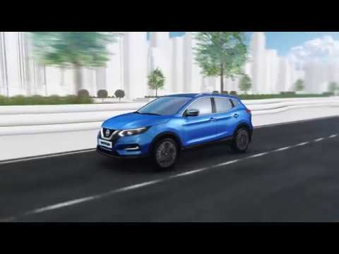 Nissan Qashqai ProPILOT animation