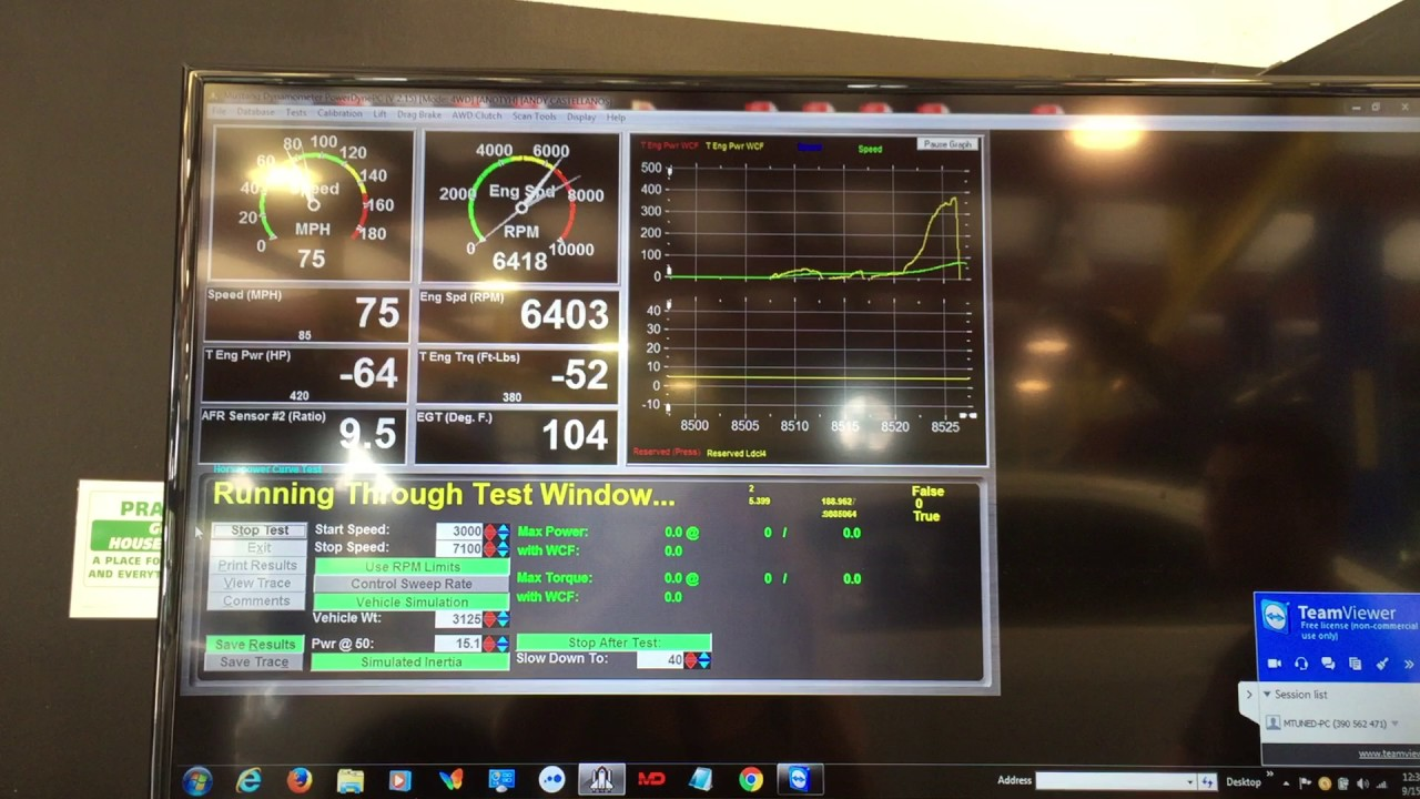 Dyno Testing and Tuning - Engine Lab of Tampa