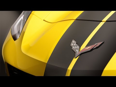 Hertz Rental Car Company Adds A Custom  Chevy Corvette Z