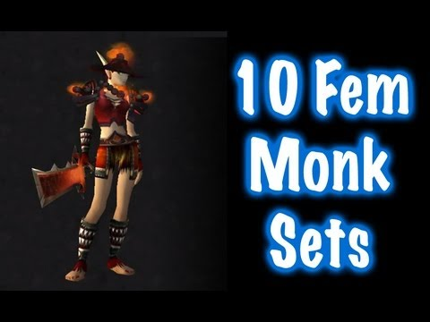 10 Sxc Female Monk Transmog Sets 1 World Of Warcraft Youtube