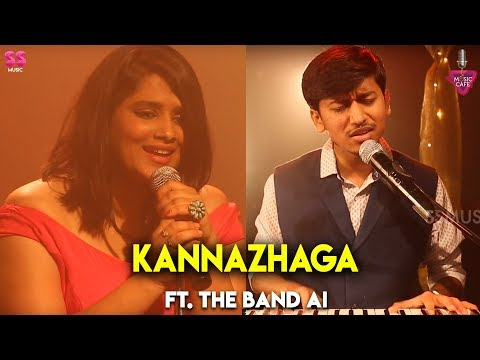 Kannazhaga - Ft. The Band AI | Music Cover | Episode 11 | Music Cafe From SS Music