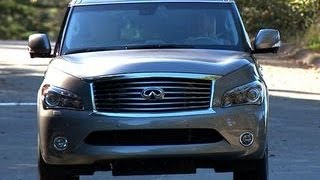 Car Tech - 2014 Infiniti QX80 AWD