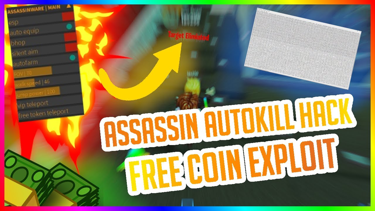 Roblox Assassin Hack Assassin Aimbot Script 2020 Youtube