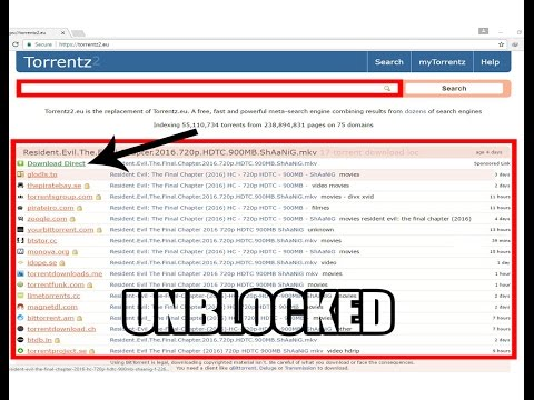 How to unblock and download torrents from torrentz.eu!!!!