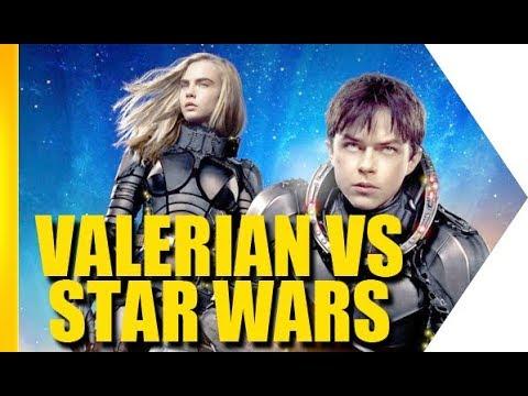 Valerian vs Star Wars: as diferenças e semelhanças (com Luc Besson e Dane DeHaan)