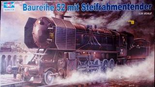 Baureihe 52 mit Steifrahmntender 1/35 scale By Trumpeter Box Review