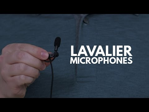 Audio Recording Tips: Lavalier Microphones