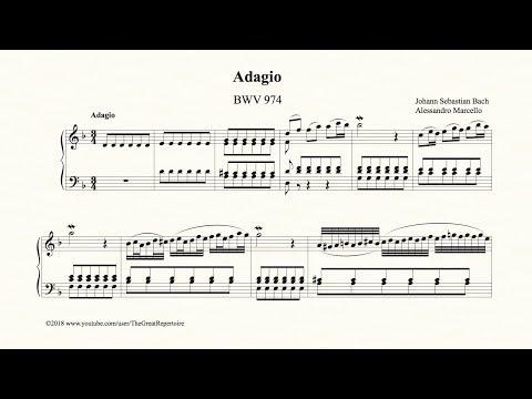 Bach, Adagio, BWV 974