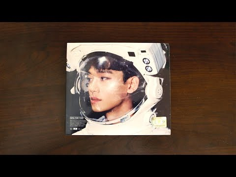 |Unboxing| EXO 엑소 - Winter Special 2015 Album 'Sing For You' (Chen's Korean Cover)