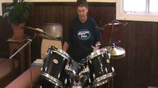 5 Piece Pulse Drums - Church Setup