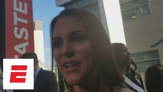 Stephanie McMahon details WWE humanitarian efforts, Ronda Rousey's impact, and future of WWE | ESPN
