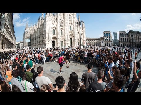 Mastour VS Garnier Trick Shots + Skills Competition