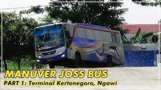 MANUFER INDAH BUS-BUS di Terminal Kertonegoro Ngawi [PART 1]