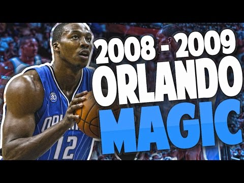 REBUILDING the '08 - '09  ORLANDO MAGIC!! DWIGHT HOWARD DOMINATES!! - NBA 2K17 MYLEAGUE