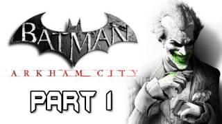 Batman Arkham City - Walkthrough Part 1 Introduction Catwoman & Bruce Wayne Let