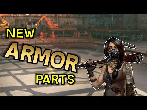 New Armor Parts Update 0.9.90 -- Crossout