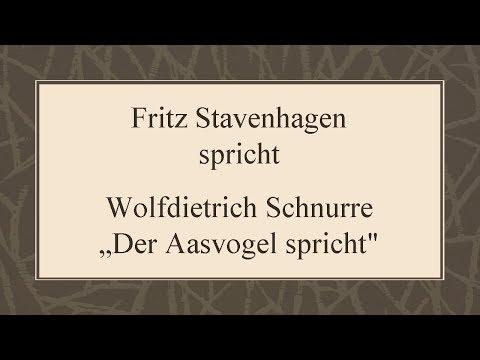 """Wolfdietrich Schnurre """"Der Aasvogel spricht"""""""