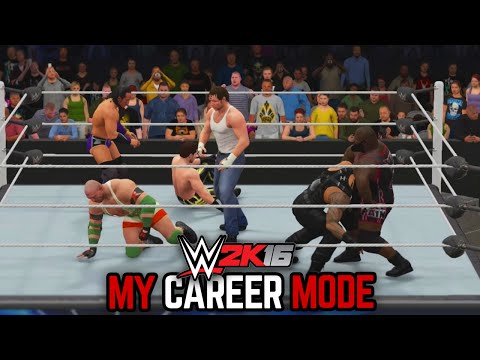 wwe 2k16 my career how to go to raw