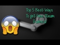 Top 5 Best Ways To get Free Steam Keys(Legit, and Working!)