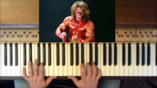 "Wrestling Piano Theme Tutorials - ""Unstable"" (Ultimate Warrior WWE Theme)"