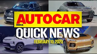 Auto Expo 2020 Highlights - All the best cars & bikes | Quick News | Autocar India