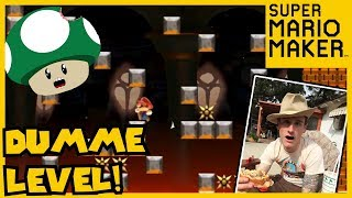 RICHTIG DUMME LEVEL!! | Mario Maker Funny Moments | GamedUp! [Silas]
