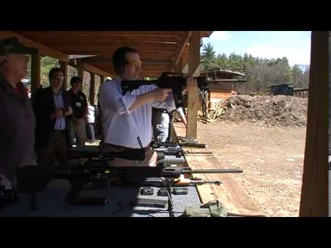 Ted Cruz Enjoying A Great Time On The Gun Range In Londonderry NH 19 April 2015