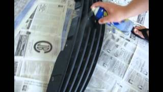 Painting Grill G35 DIY
