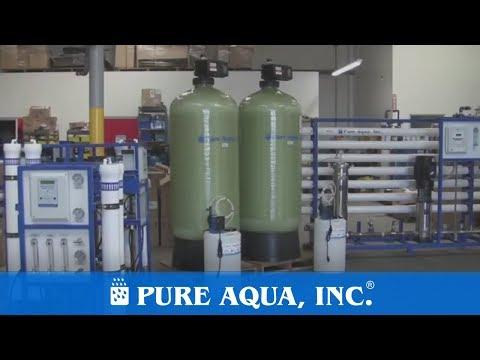 Light Industrial RO System 32,000 GPD - Philippines | www.PureAqua.com
