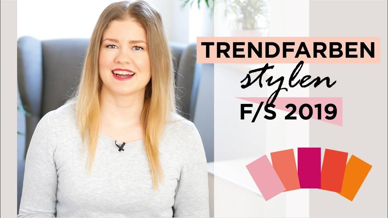 So Lassen Sich Die Trendfarben Stylen Pantone Modefarben Frühling