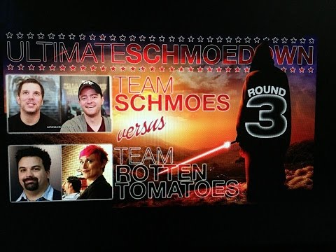 TEAM ROTTEN TOMATOES VS TEAM SCHMOES (MATCH 4 ROUND 2 ULTIMATE SCHMOEDOWN)
