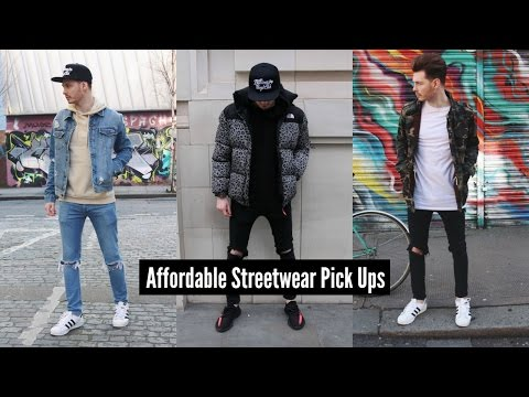 How To Style Streetwear | Mens Fashion Pick Ups 2018