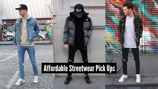 How To Style Streetwear | Mens Fashion Pick Ups 2017