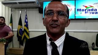 Morada Nova   Arnaldo Cazusa é o 4ª vereador representante do Arruarú que assume o parlamento nessa