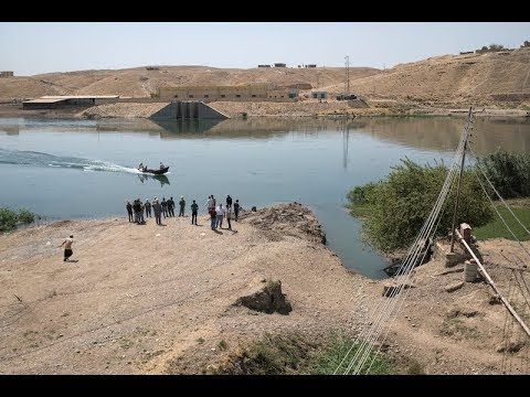 Powering West Mosul's water plants