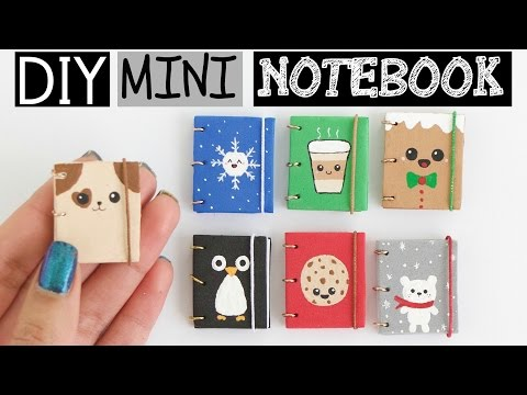 DIY MINI NOTEBOOKS PART 2 - Easy & Cute Designs!