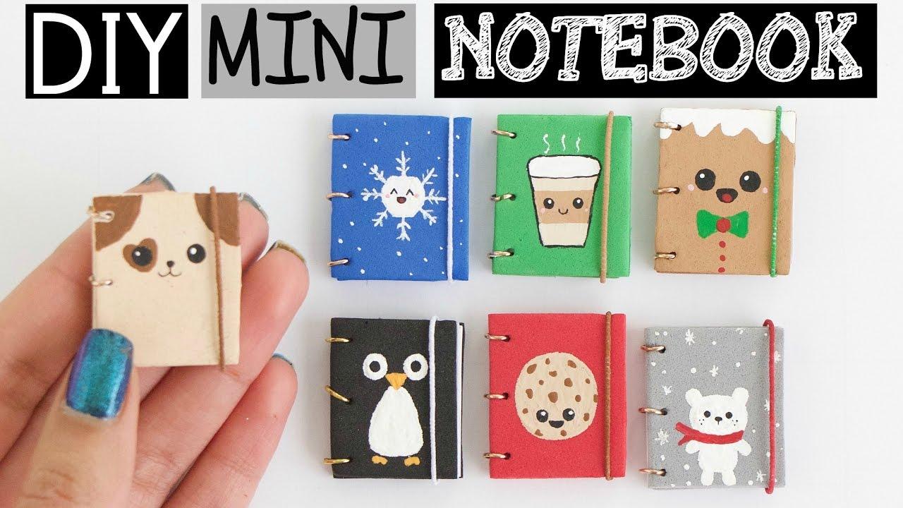 Diy Mini Notebooks Part 2 Easy Cute Designs Youtube