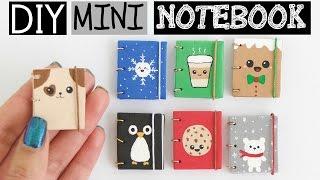 DIY MINI NOTEBOOKS PART 2 - Easy & Cute Designs!