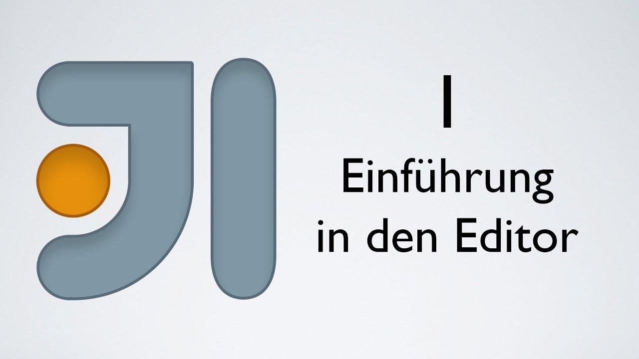 Java in IntelliJ - Kapitel 1: Einführung in die Serie und den Editor