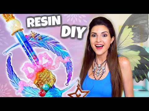 Making ANGEL POTION?! Craft Subscription Box for RESIN how to