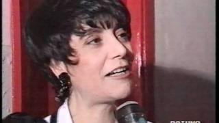 Mia Martini e Loredana Bertè Interviste flash a Sanremo 1993