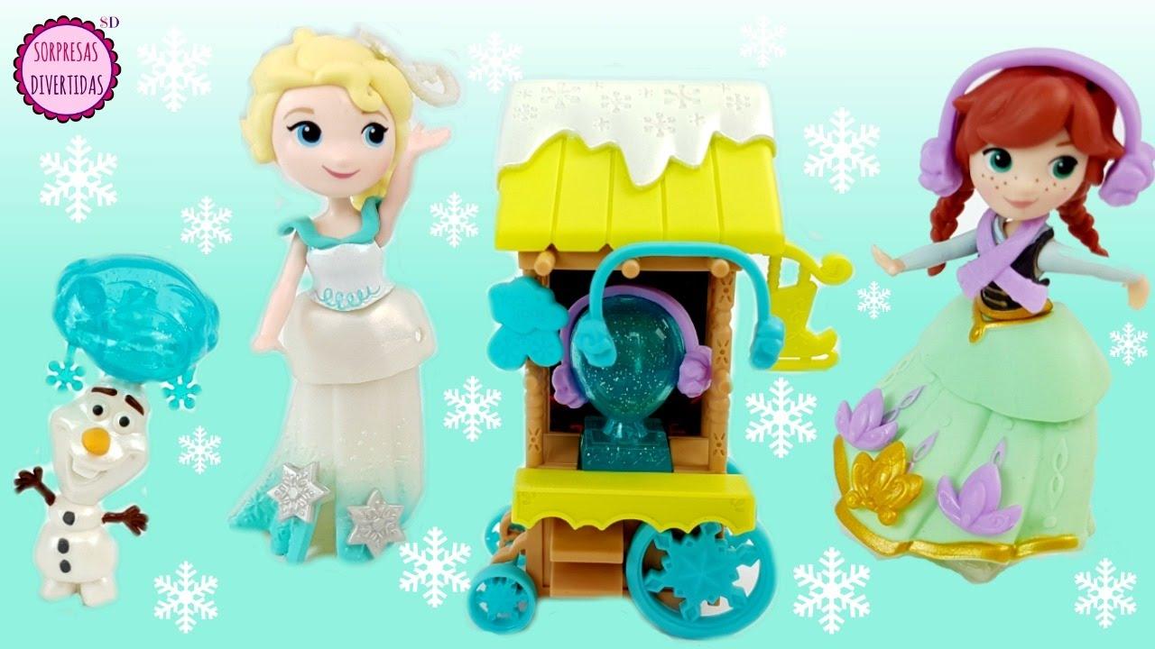 Elsa Hielo Con Sobre Juguete Patinaje Stop Motion Maletín Muñecas Y Olaf Frozen De Anna Historia JclF1TK3