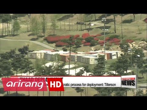 U.S. understands Seoul's democratic process for THAAD deployment: Tillerson