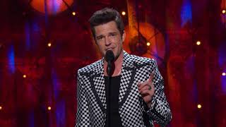 The Killers Brandon Flowers Inducts The Cars into The Rock & Roll Hall of Fame
