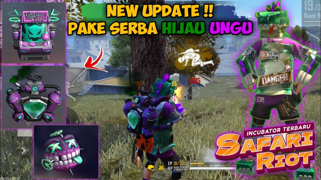 REVIEW BUNDLE INCUBATOR TERBARU !! AUTO RUSUHIN MAP BERMUDA | GARENA FREE FIRE
