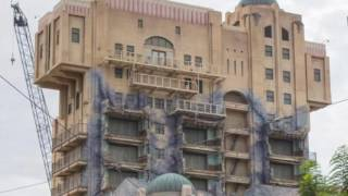 Tower Of Terror Sign REMOVED | Disney's California Adventure