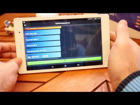 Sony Xperia Z3 Tablet Compact Test (4k/Deutsch)